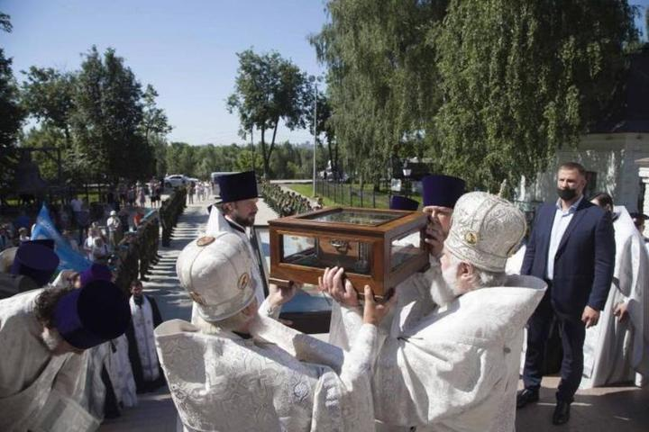 Ковчег с мощами Александра Невского прибудет в Кострому 25 июня