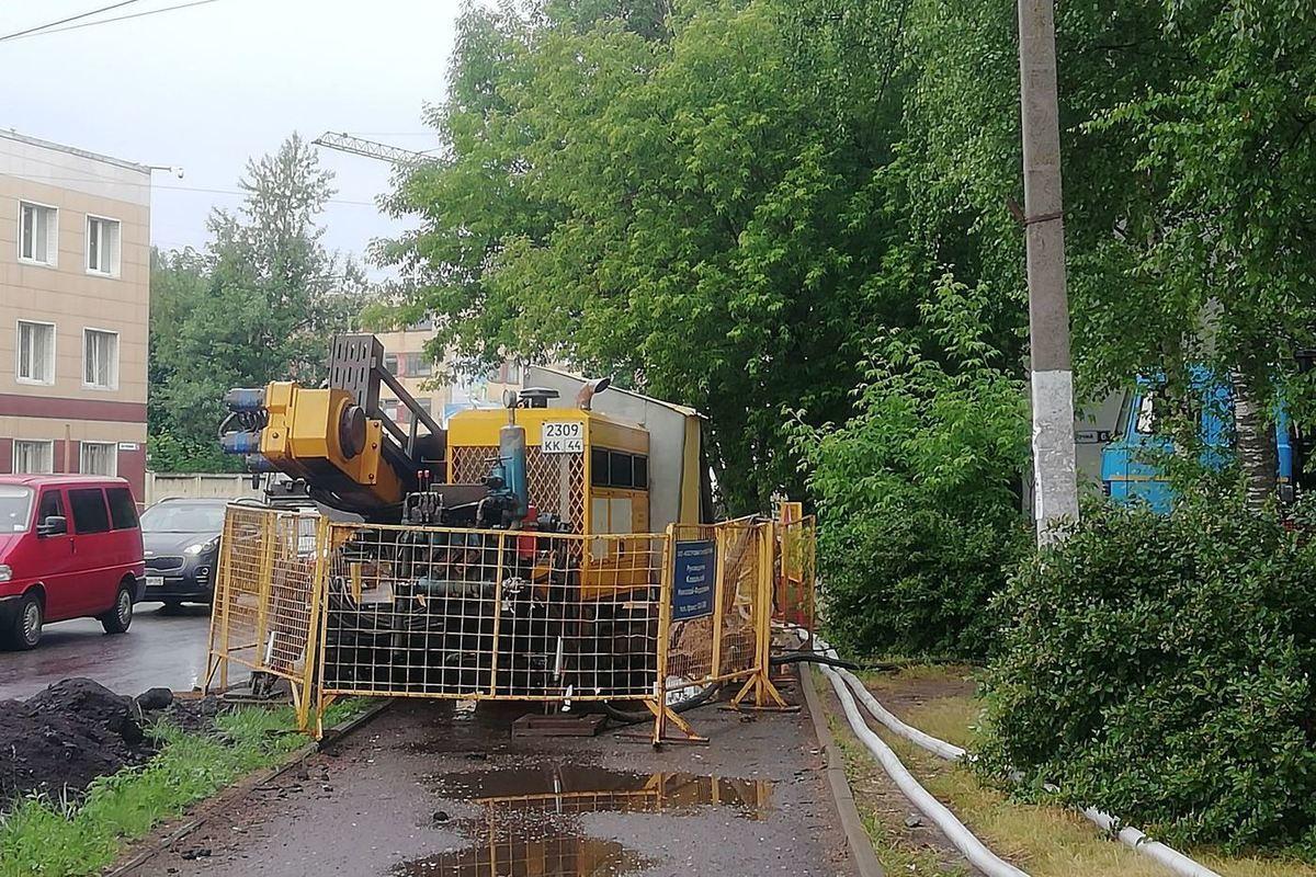 «Костромагорводоканал» завершил ремонт канализационного коллектора на Рабочем проспекте