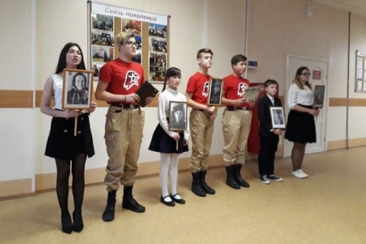 Костромские школьники записали свои дела и своих друзей в «Книгу рекордов»