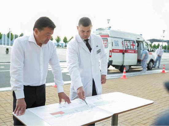 Андрей Воробьев: «Госпитализация высокая, врачи работают очень напряженно»