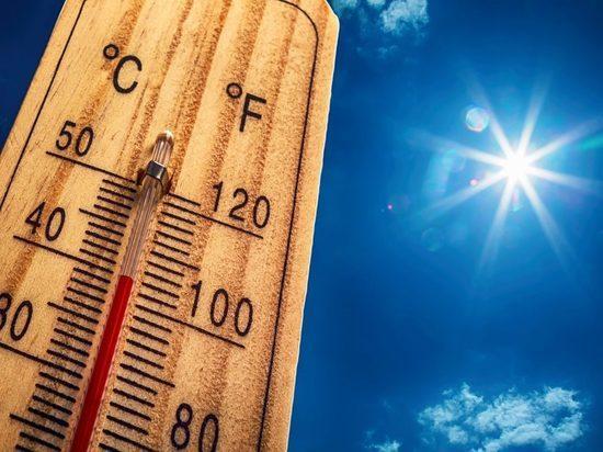 Аномально жаркий июнь в Москве