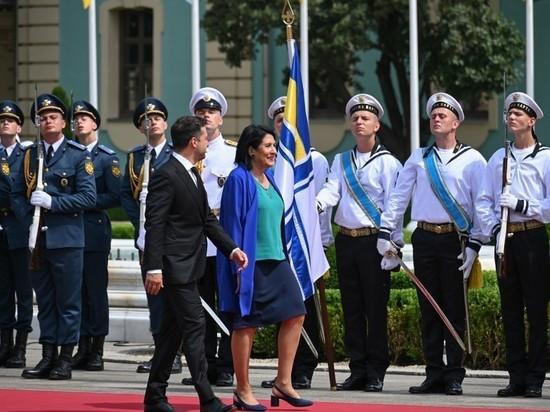 На Украине пытаются расшифровать очередной политический символ