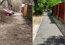 Более пятидесяти «народных троп» и тротуаров отремонтируют в Серпухове