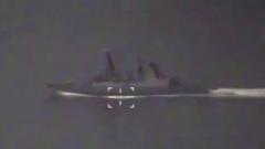 Минобороны опубликовало видео сопровождения эсминца Defender в районе Крыма