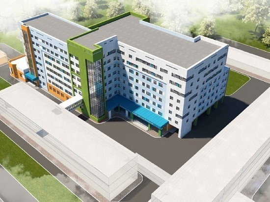 В Барнауле построят хирургический корпус детской больницы за 4 млрд рублей