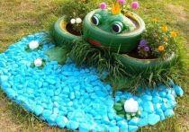 Ивановские УК будут штрафовать за цветники из покрышек