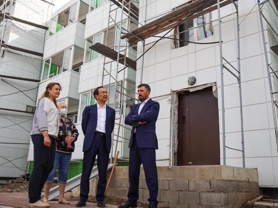 В посёлке Серебряный Бор Нерюнгринского района Якутии сдают долгострой