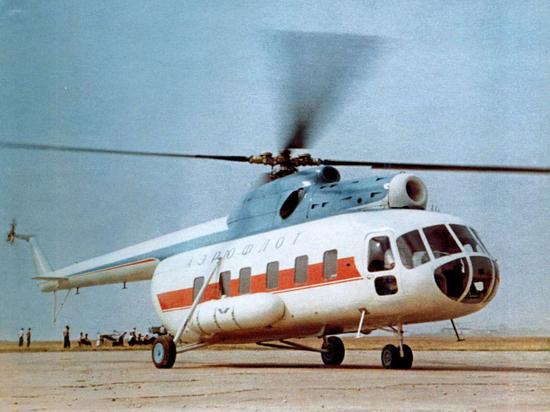 Самый массовый российский вертолет отметил 60-летний юбилей
