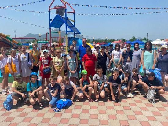 Благотворительная акция «Здравствуй, лето» открыла двери в «Город Солнца»