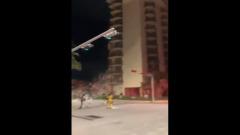 Многоэтажный дом рухнул во Флориде: кадры последствий