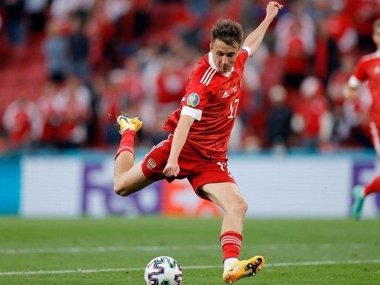 Головин стал лучшим по пробегу на групповой стадии Евро-2020