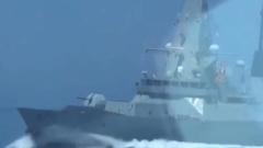 Опубликована запись переговоров пограничников с эсминцем Defender: кадры стрельбы