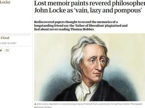 Найденные мемуары показали, что «отец либерализма» Джон Локк был плагиатчиком и лжецом