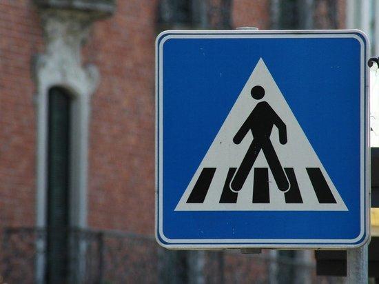 Нетрезвый мужчина вырвал дорожный знак в Барнауле и размахивал им