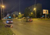В Челябинске мотоциклист погиб, пытаясь скрыться от сотрудников ДПС