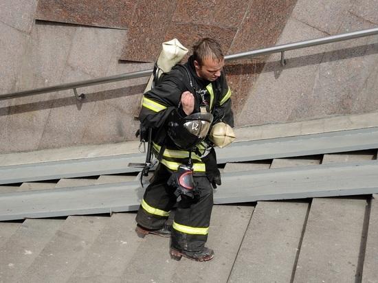 Пожар произошел в частной клинике в центре Москве