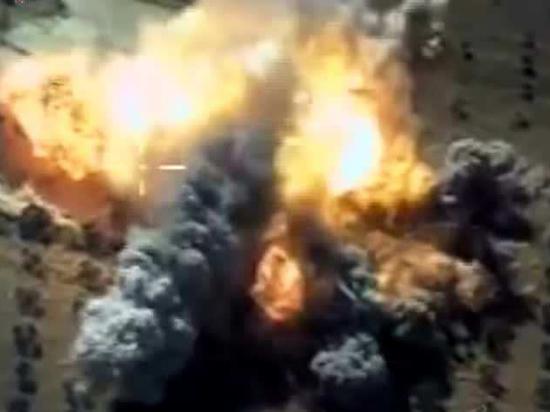 Вертолёты и самолёты российской группировки в Сирии уничтожили крупную базу боевиков