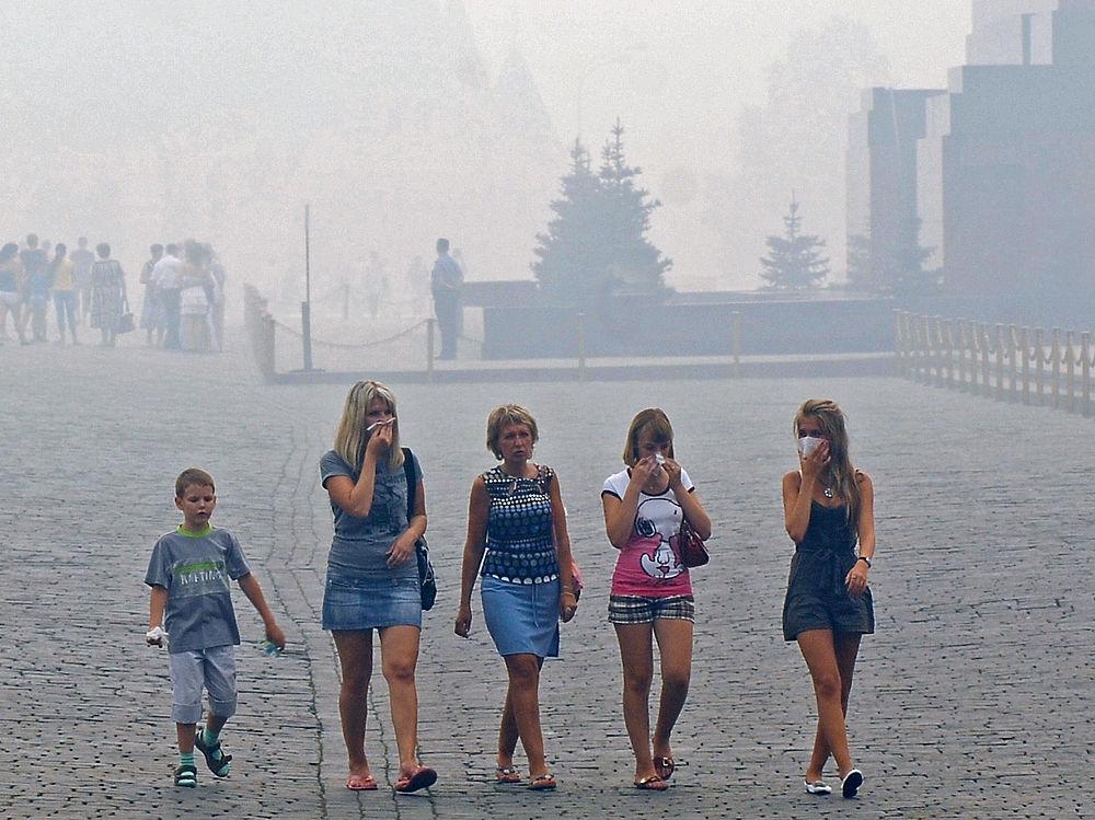 Жара и смог в Москве 2010 года: как это было