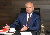 Додон: Запад рассчитывает использовать Молдову и против России