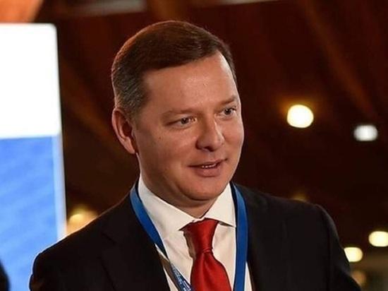 Экс-депутат Рады Ляшко устроил стриптиз в прямом эфире