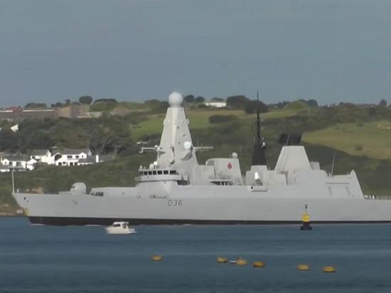 В Минобороны назвали инцидент с британским эсминцем «эпическим фиаско»