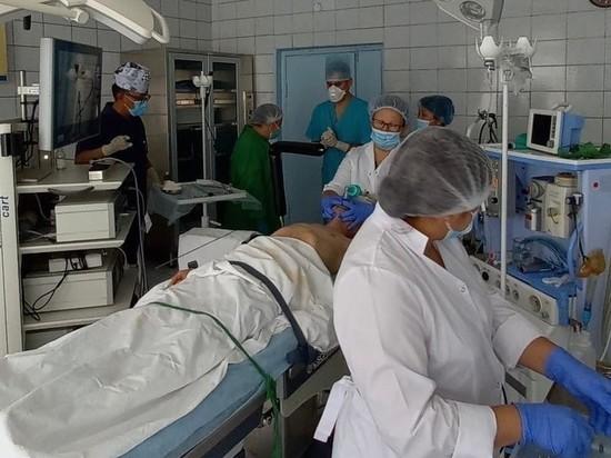 Специалисты  провели в Туве мастер-класс  по торакальной хирургии