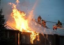 При пожаре в Ивановской области погибли подросток и пожарный