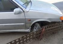 В Тверской области пьяный водитель вырвал колесо автомобиля