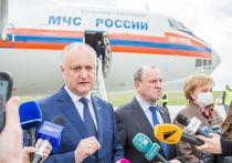 Додон: Молдова ожидает несколько сотен тысяч доз вакцины «Спутник V»