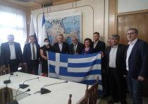 Крым с дружественным визитом посетила делегация из Греции