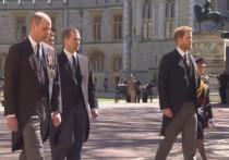 Уильям и Гарри устроили безобразную ссору на похоронах принца Филиппа