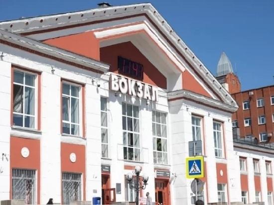 Алтайские железнодорожные вокзалы обработали от коронавируса