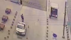 Пьяный калужанин угнал полицейскую машину в Москве: видео