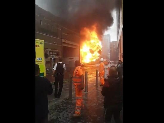В Лондоне произошел взрыв на железнодорожной станции