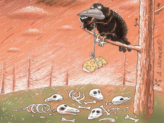 Стало известно, что общего между вороном, опасными жевательными смесями и курским мэром