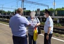Восемь нарушений на станции Серпухов выявили инспекторы