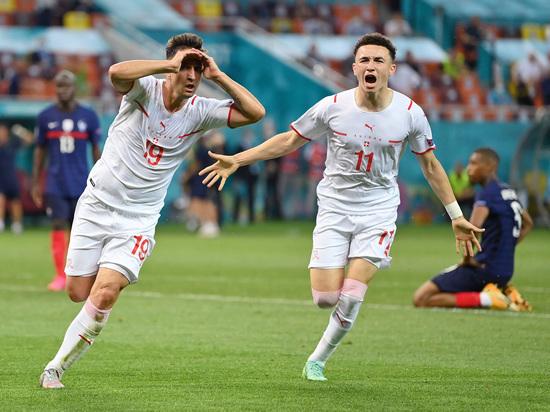 Франция покидает чемпионат Европы уже на первой стадии плей-офф!