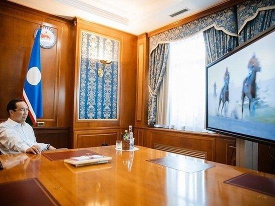 Победителем скачек на призы главы Якутии стал жеребец Майн Кениг