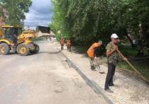 Ещё три тротуара обустроят в Серпухове на этой неделе