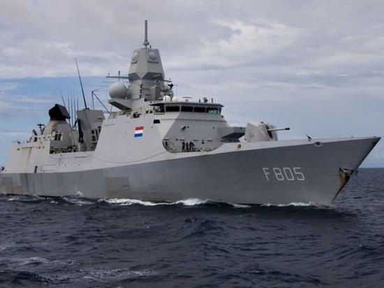 Леонков прокомментировал инцидент с нидерландским фрегатом