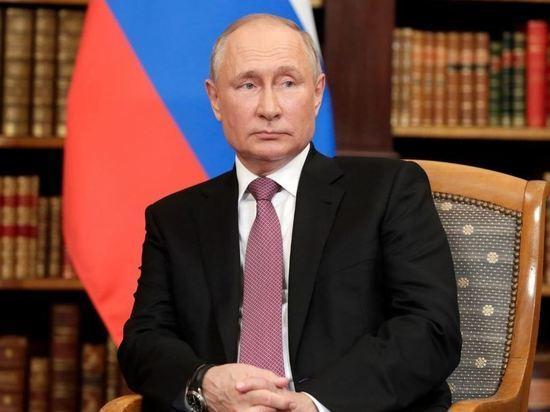 Песков: Путин фактически не был на «удаленке» во время пандемии