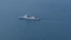 Опубликовано видео с самолетов, сопровождавших голландский фрегат в Черном море