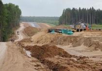 Работы на Северном обходе Калуги идут с опережением