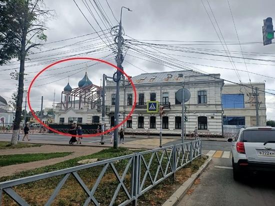 В Ярославле на крыше памятника архитектуры откроют ресторан