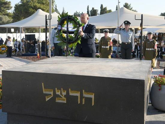 Нафтали Беннет выступил на церемонии памяти Биньямина Зеэва Герцля