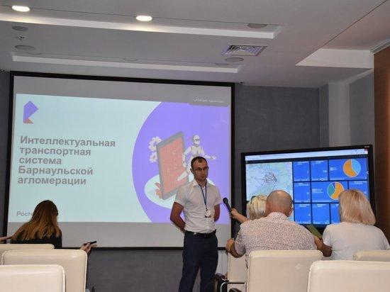 Количество ДТП в Барнаульской агломерации сократят с помощью интеллектуальной транспортной системы
