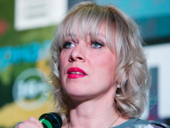 Захарова высмеяла высказывания Зеленского о русских и украинцах
