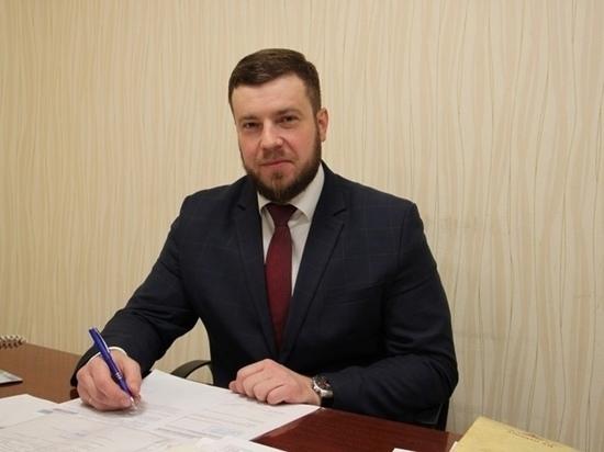 Мэр Фатежа Евгений Лобов возглавил департамент внутренней политики Курской области