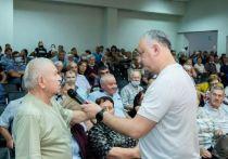 Игорь Додон провел предвыборную встречу с жителями Бессарабки