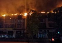 Пострадавшим в результате возгорания кровли дома в Горячем Ключе окажут необходимую помощь